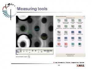 X Ray Measure tool