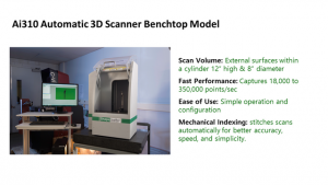 3D Scanner เครื่องสแกน 3 มิติ